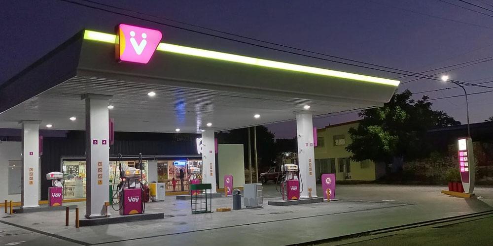Estación de Servicio Azul - Voy con Energía